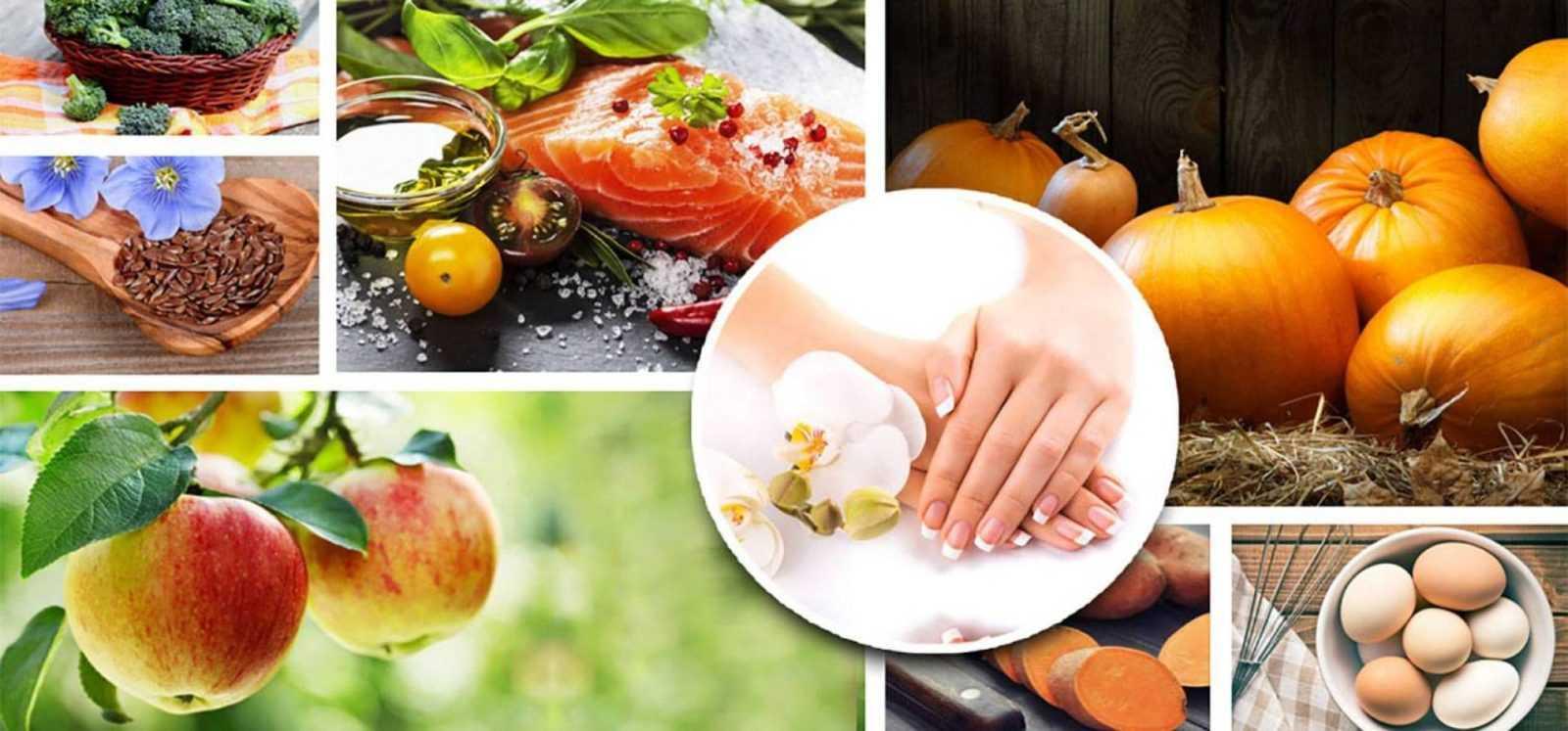 Какие продукты любят наши ногти