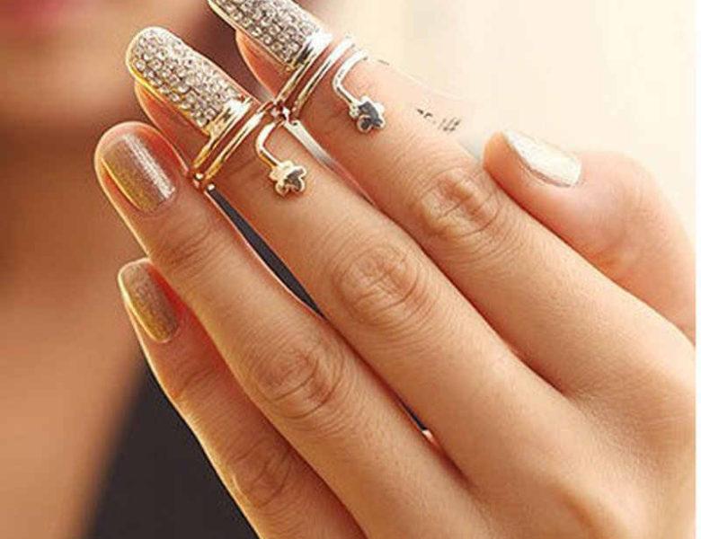 Кольца-ногти. Дерзкий неувядаюший тренд.