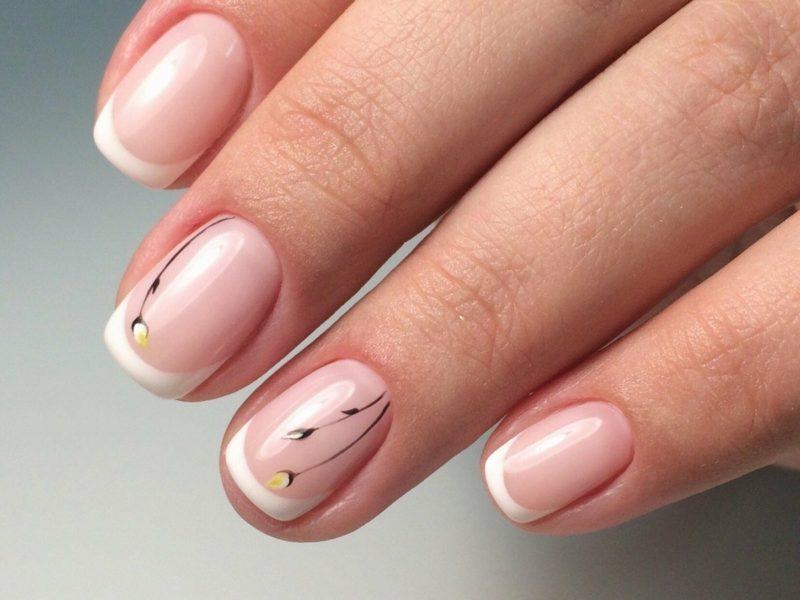 Причины желтых ногтей